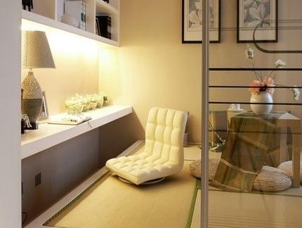 现代欧式卧室小房间榻榻米图片