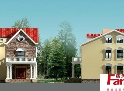 最新农村三层房屋设计图欣赏