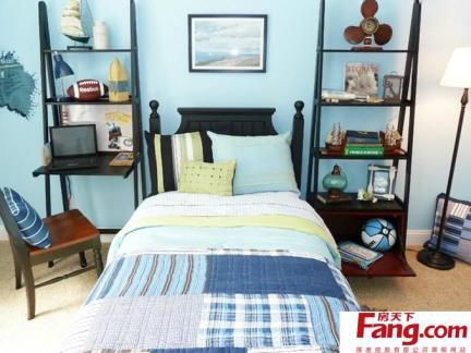 主卧室床之室内卧室床设计效果图