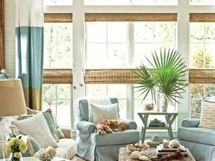美式阳光房遮阳帘效果贴图欣赏