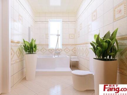 室内装修卫生间墙贴瓷砖效果图