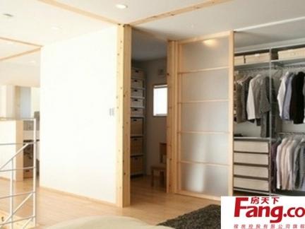 2013最新衣帽间家电日式风格三室二厅装潢
