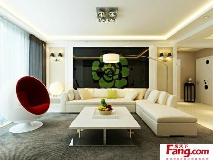 家居灯饰图片之客厅灯具装饰