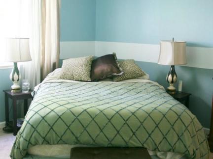主卧室床之室内卧室床装修图片