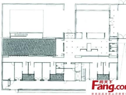 2018家具楼房详细平面图 房天下装修效果图