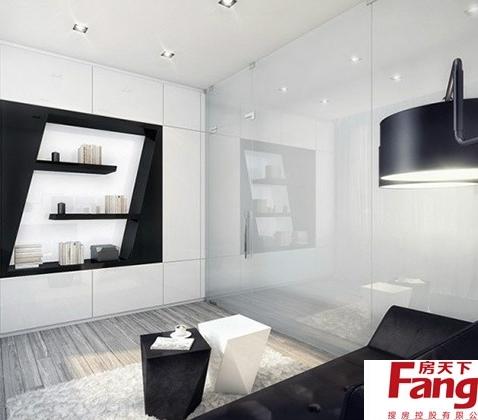 二室一厅设计图-搜房网装修效果图