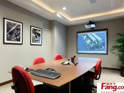 公司装修效果图大全2014图片之小会议室