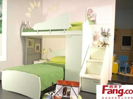 儿童卧室顶楼复式装修效果图
