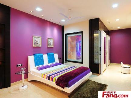 主卧室床之室内卧室床设计布局效果图图片集锦