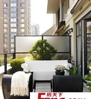 最新错层阳台装修效果贴图欣赏