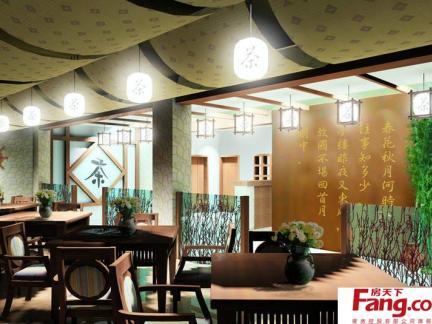 中式茶馆装修图片大全
