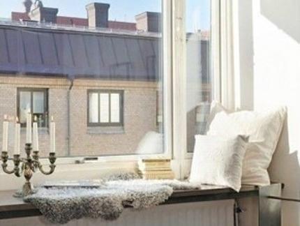 全套现代欧式建筑一室两厅小户型阳台飘窗装修效果图赏析