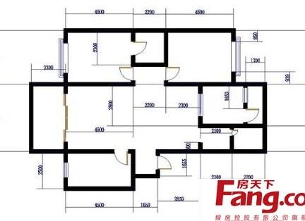 经典120平方房子设计图赏析-200平方房子装修图 房天下装修效果图