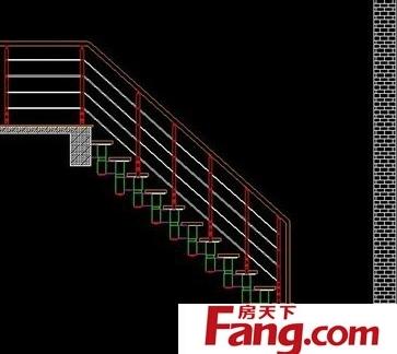 别墅楼梯设计平面图