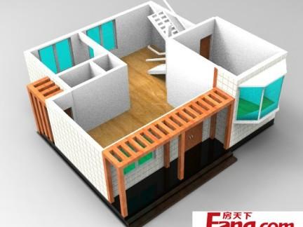 农村一层小别墅设计图