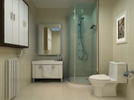 地中海公寓精装修厕所效果图片图片