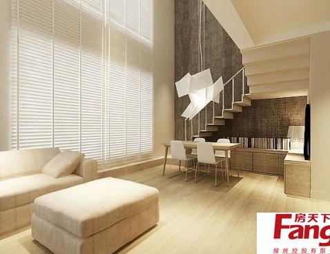 欧式卧室小户型复式楼装修图图片