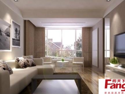 2018大型简欧客厅效果图-房天下装修效果图图片