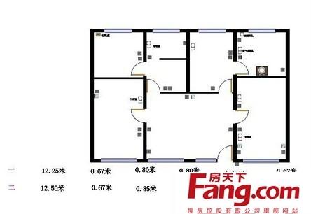 农村一层平房平面设计图纸-全套一层设计图纸农村平房设计图