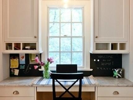飘窗延伸书桌装修效果图