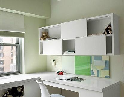 小书房书柜效果图图片