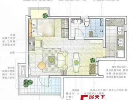 农村长方形平房设计图纸-2017长方形房屋设计图纸 房天下装修效果图