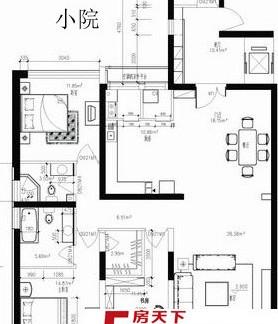 2013最流行的90平方房子设计图图片