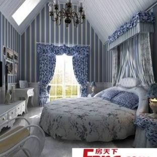 欧式圆床卧室装修效果图图片