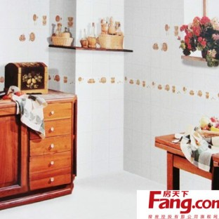 厨房墙砖可爱贴图