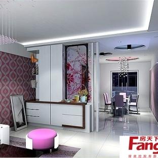 温馨简欧风格80平房子装修效果图图片