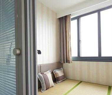 现代简约日式3室1厅装修效果图