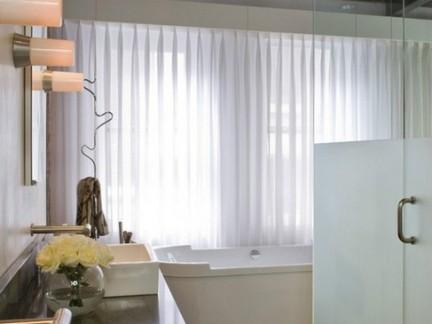 合理利用空间卫生间装修效果图大全2012图片
