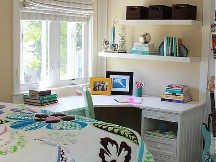 小书房书架装饰效果图图片