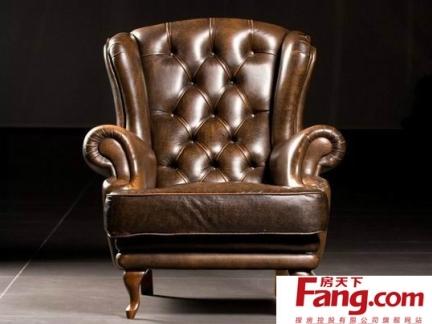 古典欧式真皮沙发图片大全欣赏-2017古典欧式沙发图片大全 房天下装