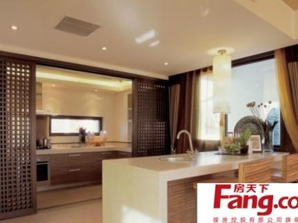 2013新中式风格的厨房门图片
