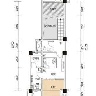 2018两室两厅平面设计图 房天下装修效果图
