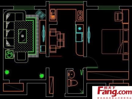 农村平房屋平面设计图纸-2017房屋平面图纸设计 房天下装修效果图