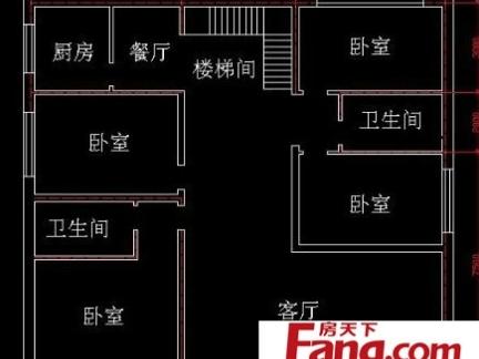 农村二层楼房室内平面布局设计图纸图片