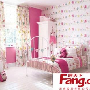 可爱卧室墙纸图片大全