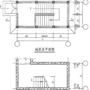 钢结构楼梯图集图纸大全