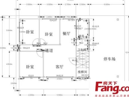 2018三层楼房设计图纸-房天下装修效果图图片