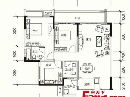 农村平房屋平面设计图纸-2018农村三层房屋设计图 房天下装修效果图