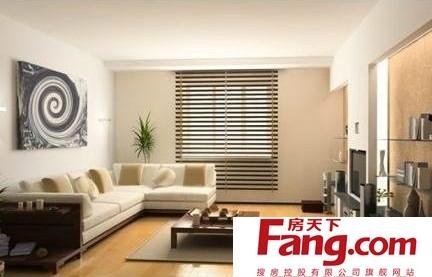 禅意日式现代简约客厅效果图