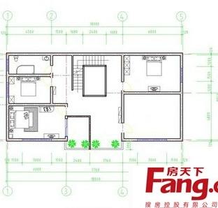 二层楼房楼梯设计图纸