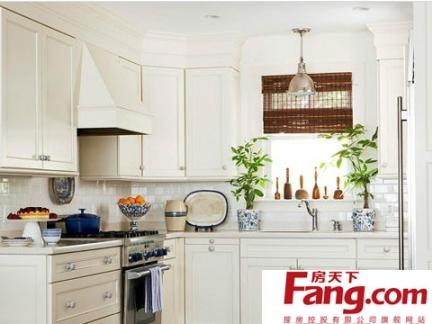 2018厨房装修效果图小户型欧式-房天下装修效果图图片
