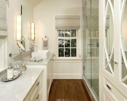 简欧风格的浴室装修效果图大全2012图片集锦