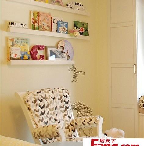 书房可爱书架装修效果图大全2012图片