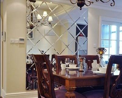 简欧餐厅一角80平米两室一厅装修效果图-86平米两室一厅简欧装修效