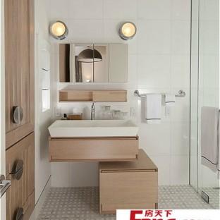 小户型卫生间装修效果图