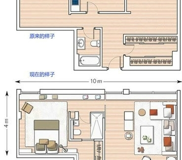 农村二层平房设计图纸-2017农村二层平房设计图 房天下装修效果图